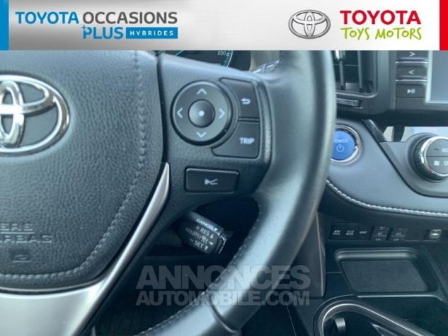 Toyota RAV4 197 Hybride Silver Edition 2WD CVT Gris Acier Metal Occasion - 11
