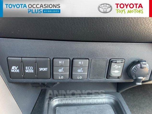 Toyota RAV4 197 Hybride Silver Edition 2WD CVT Gris Acier Metal Occasion - 13