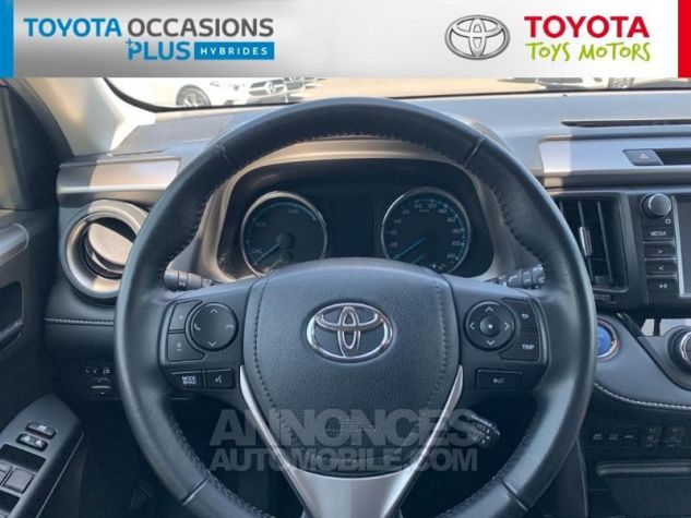 Toyota RAV4 197 Hybride Silver Edition 2WD CVT Gris Acier Metal Occasion - 14