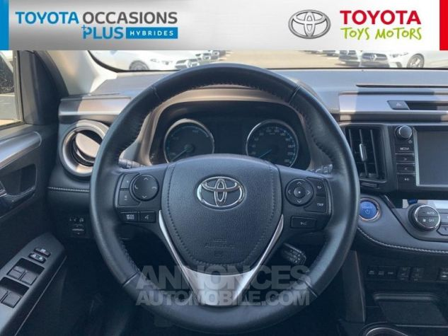 Toyota RAV4 197 Hybride Silver Edition 2WD CVT Gris Acier Metal Occasion - 15