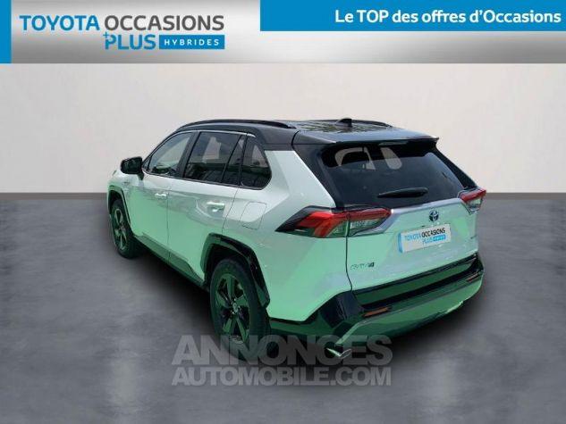 Toyota RAV4 Hybride 218ch Collection 2WD BI TON BLANC NACRE NOIR ATTITU Occasion - 1