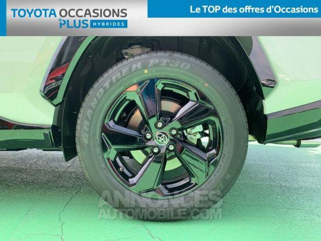 Toyota RAV4 Hybride 218ch Collection 2WD BI TON BLANC NACRE NOIR ATTITU Occasion - 3