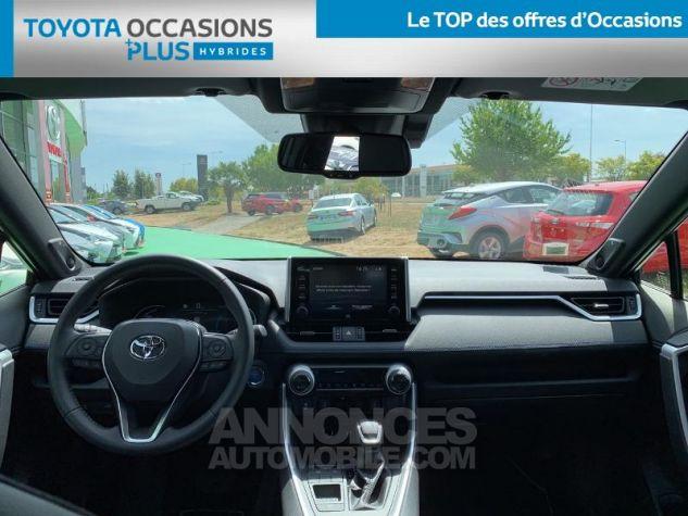 Toyota RAV4 Hybride 218ch Collection 2WD BI TON BLANC NACRE NOIR ATTITU Occasion - 4