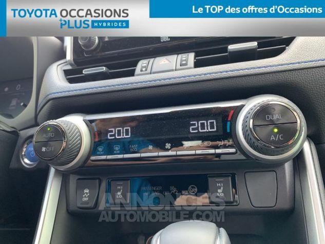 Toyota RAV4 Hybride 218ch Collection 2WD BI TON BLANC NACRE NOIR ATTITU Occasion - 10