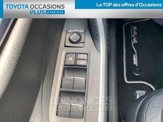 Toyota RAV4 Hybride 218ch Collection 2WD BI TON BLANC NACRE NOIR ATTITU Occasion - 11