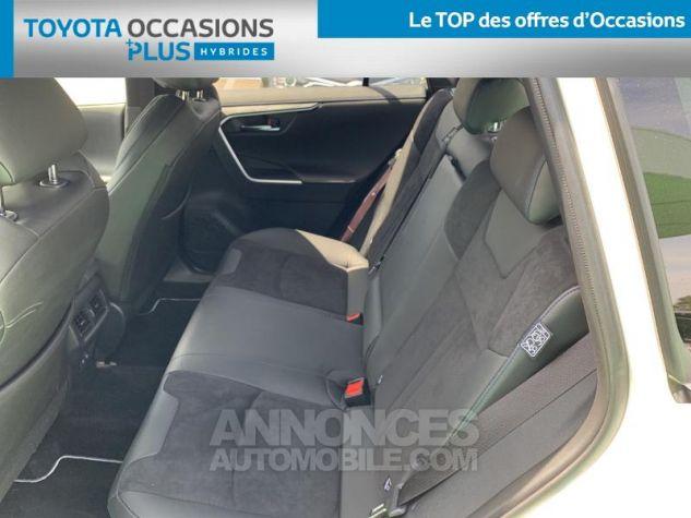 Toyota RAV4 Hybride 218ch Collection 2WD BI TON BLANC NACRE NOIR ATTITU Occasion - 13