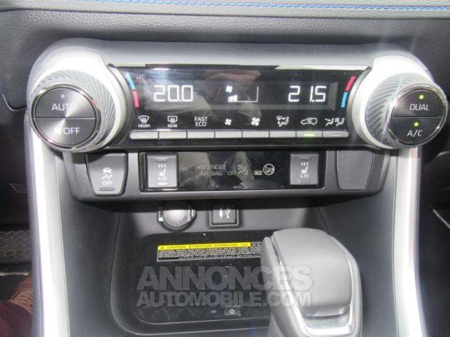 Toyota RAV4 Hybride 218ch Collection 2WD Bi Ton Gris Acier Noir Attitud Occasion - 10