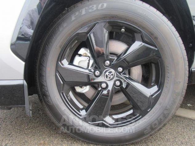 Toyota RAV4 Hybride 218ch Collection 2WD Bi Ton Gris Acier Noir Attitud Occasion - 17
