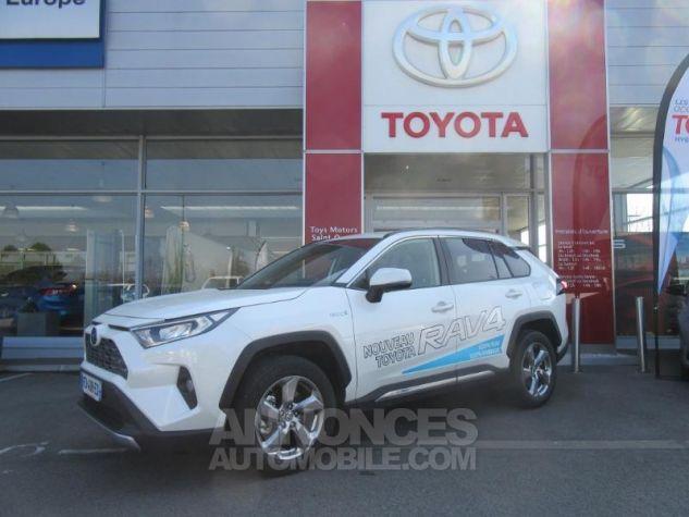 Toyota RAV4 Hybride 218ch Dynamic 2WD BLANC NACRE Occasion - 0