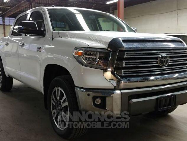 Toyota Tundra Crew Max Platinum  BLANC Neuf - 0