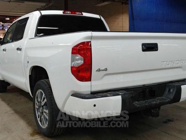 Toyota Tundra Crew Max Platinum  BLANC Neuf - 4