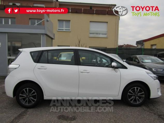 Toyota VERSO 112 D-4D Dynamic 5 places Blanc Occasion - 6