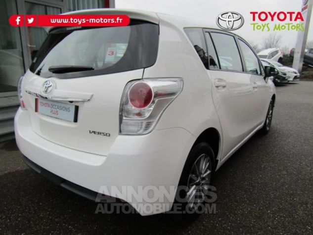 Toyota VERSO 112 D-4D FAP Dynamic Blanc Occasion - 2