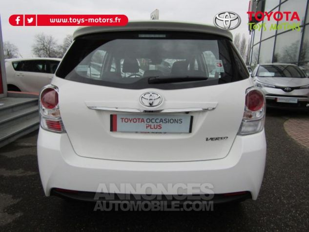 Toyota VERSO 112 D-4D FAP Dynamic Blanc Occasion - 3