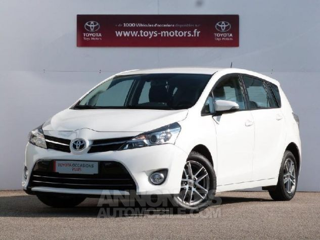 Toyota VERSO 112 D-4D FAP Feel 5 places BLANC PUR Occasion - 0
