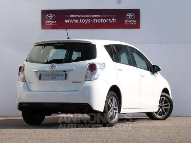 Toyota VERSO 112 D-4D FAP Feel 5 places BLANC PUR Occasion - 1