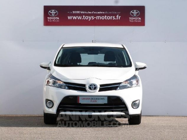 Toyota VERSO 112 D-4D FAP Feel 5 places BLANC PUR Occasion - 14