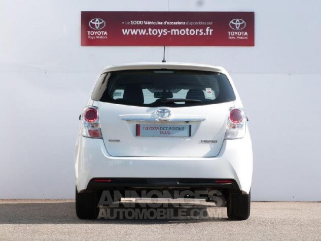 Toyota VERSO 112 D-4D FAP Feel 5 places BLANC PUR Occasion - 15