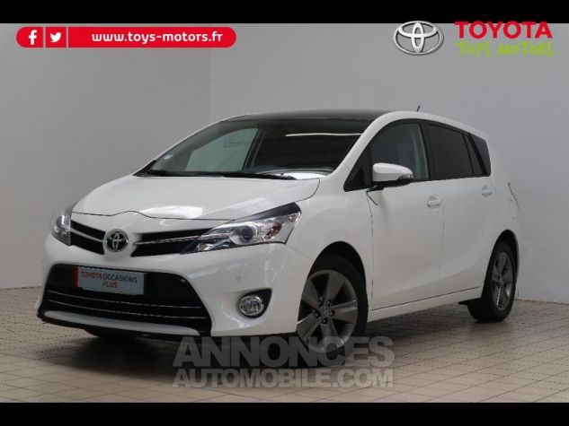 Toyota VERSO 112 D-4D SkyView 5 places BLANC Occasion - 0