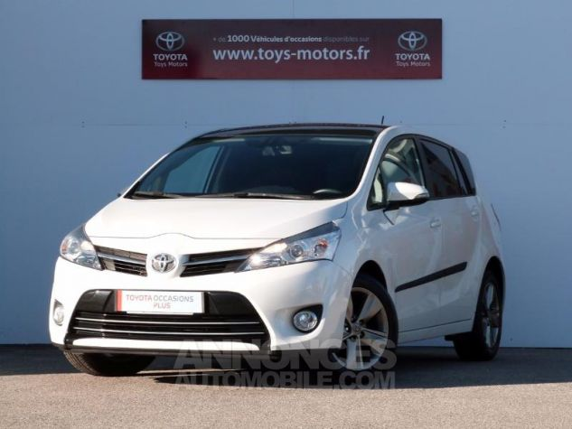 Toyota VERSO 112 D-4D SkyView 5 places BLANC NACRE Occasion - 0