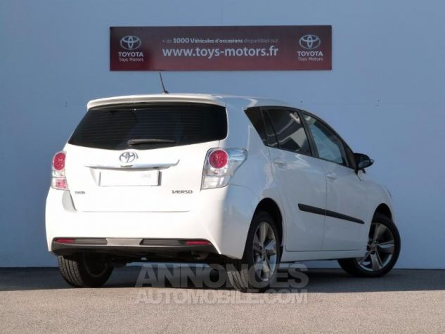 Toyota VERSO 112 D-4D SkyView 5 places BLANC NACRE Occasion - 1