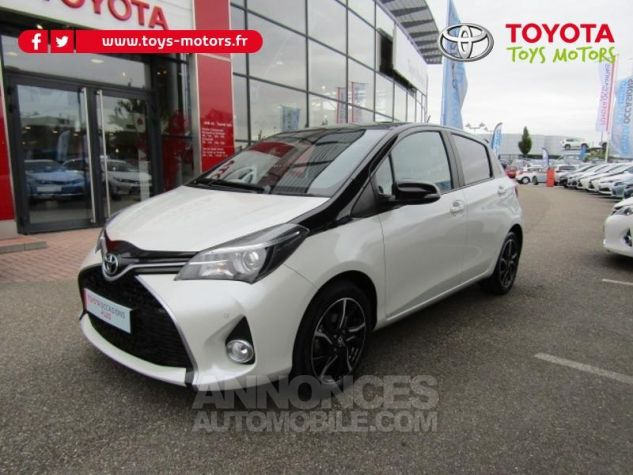 Toyota YARIS 100 VVT-i Collection 5p BLANC NACRE Occasion - 0
