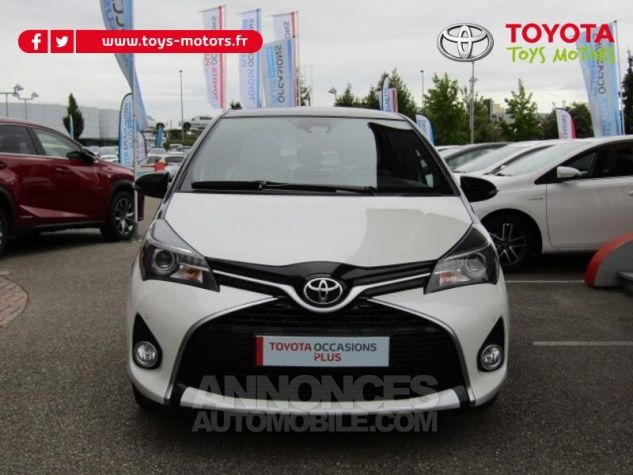 Toyota YARIS 100 VVT-i Collection 5p BLANC NACRE Occasion - 1