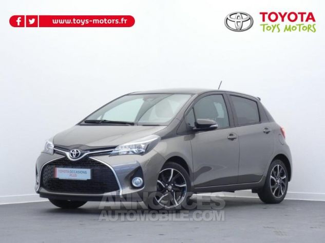 Toyota YARIS 100 VVT-i Collection 5p GRIS DUNE Occasion - 0