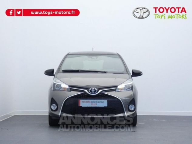 Toyota YARIS 100 VVT-i Collection 5p GRIS DUNE Occasion - 10