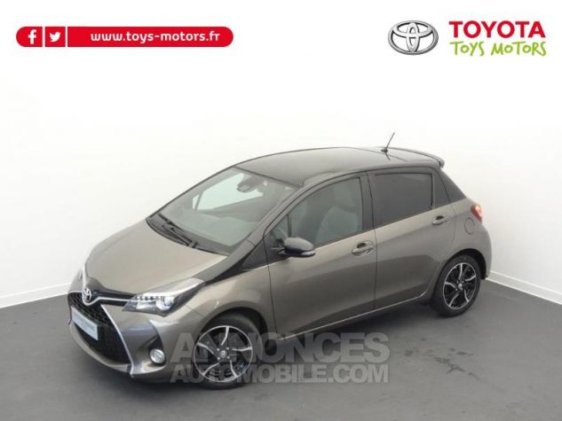 Toyota YARIS 100 VVT-i Collection 5p GRIS DUNE Occasion - 12