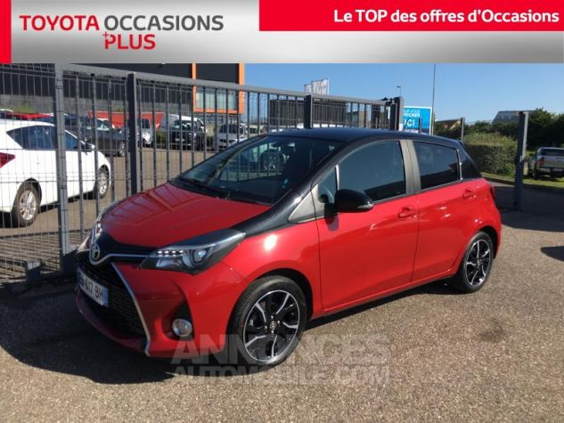 Toyota YARIS 100 VVT-i Collection 5p ROUGE Occasion - 0