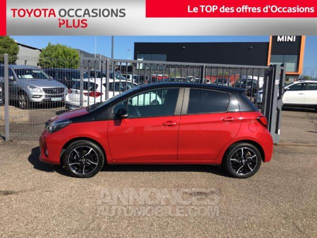 Toyota YARIS 100 VVT-i Collection 5p ROUGE Occasion - 2