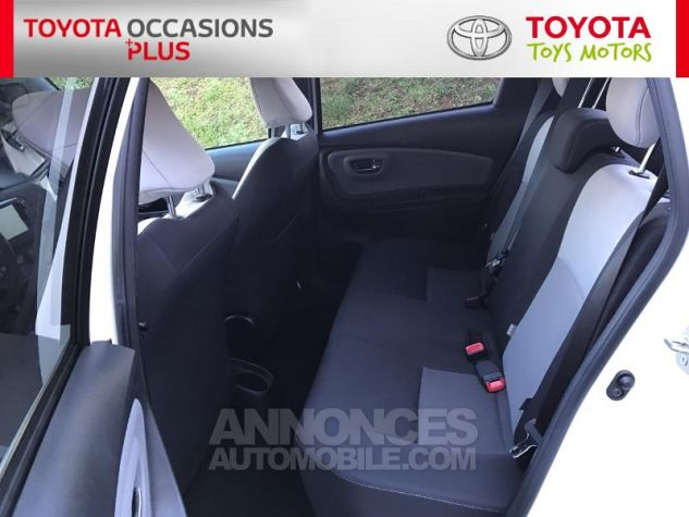 Toyota YARIS 100 VVT-i Collection 5p Blanc Nacre Occasion - 13