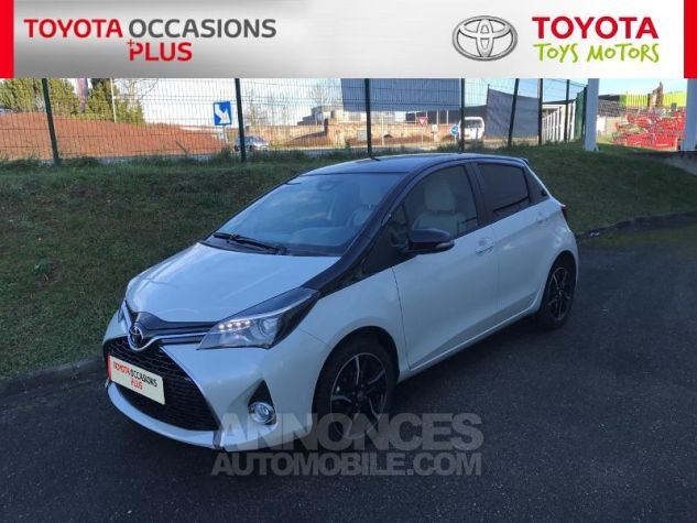 Toyota YARIS 100 VVT-i Collection 5p Blanc Nacre Occasion - 16