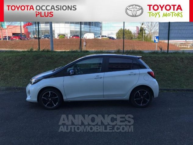 Toyota YARIS 100 VVT-i Collection 5p Blanc Nacre Occasion - 18