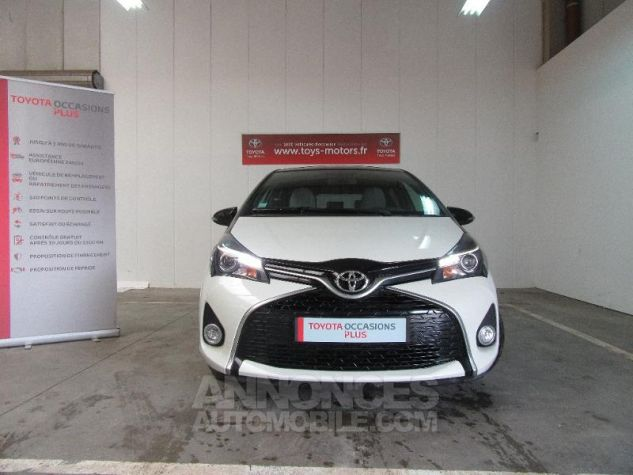 Toyota YARIS 100 VVT-i Collection 5p Blanc Occasion - 0