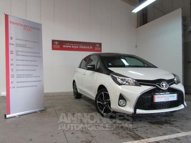 Toyota YARIS 100 VVT-i Collection 5p Blanc Occasion - 2