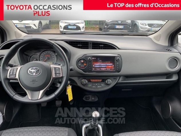 Toyota YARIS 100 VVT-i Dynamic 5p Gris Atlas Occasion - 4