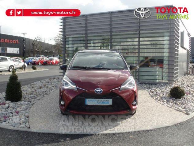 Toyota YARIS 100h Collection 5p BI TON ROUGE ALLURE   NOIR Occasion - 0