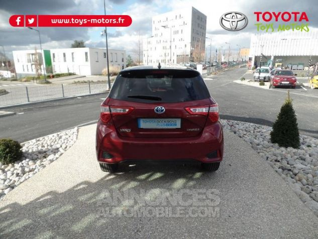 Toyota YARIS 100h Collection 5p BI TON ROUGE ALLURE   NOIR Occasion - 3