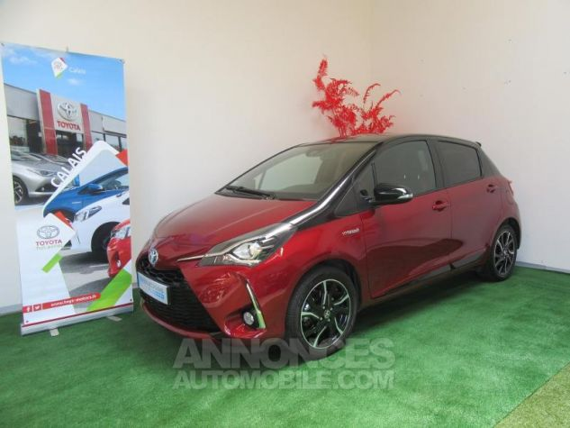 Toyota YARIS 100h Collection 5p BI TON ROUGE ALLURE Occasion - 0