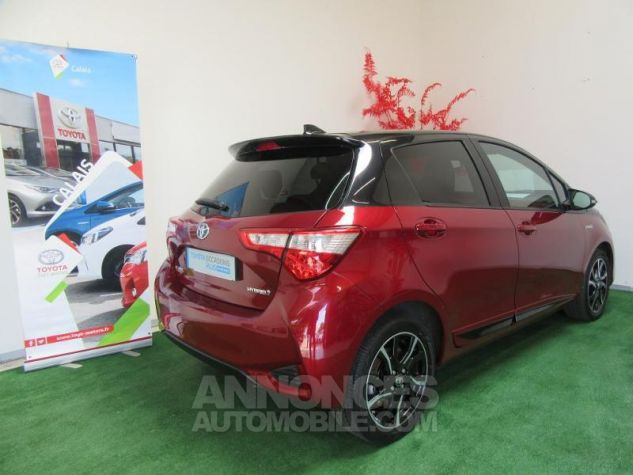 Toyota YARIS 100h Collection 5p BI TON ROUGE ALLURE Occasion - 3