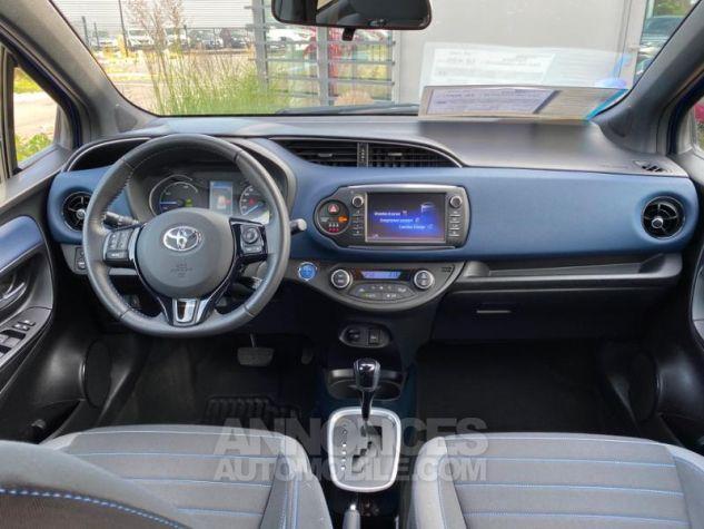 Toyota YARIS 100h Collection 5p MY19 Bi Ton Bleu Nebula Noir Occasion - 3
