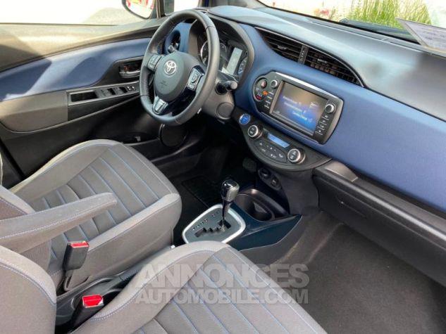 Toyota YARIS 100h Collection 5p MY19 Bi Ton Bleu Nebula Noir Occasion - 4
