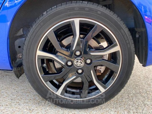 Toyota YARIS 100h Collection 5p MY19 Bi Ton Bleu Nebula Noir Occasion - 8