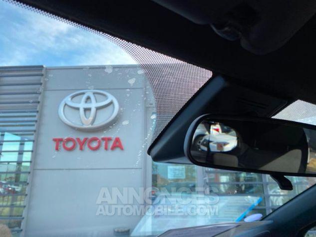 Toyota YARIS 100h Collection 5p MY19 Bi Ton Bleu Nebula Noir Occasion - 11
