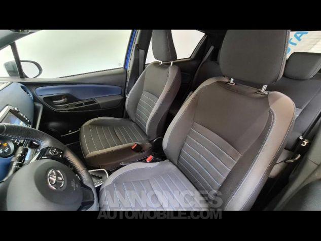 Toyota YARIS 100h Collection 5p MY19 Bi Ton Bleu Nebula Noir Occasion - 5