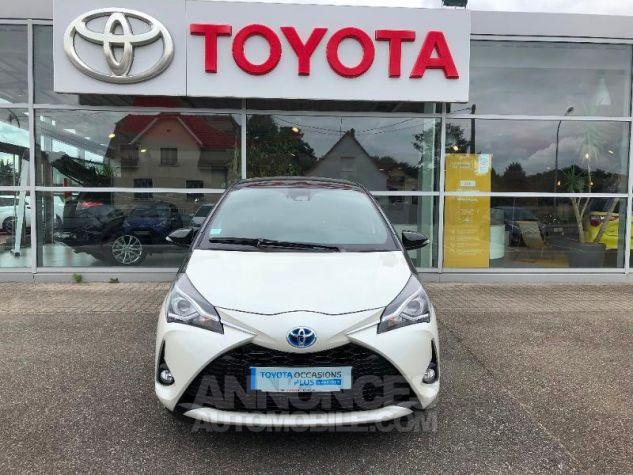 Toyota YARIS 100h Collection 5p RC18 2NS BI TON BLANC NAC Neuf - 0