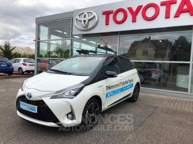 Toyota YARIS 100h Collection 5p RC18 2NS BI TON BLANC NAC Neuf - 1