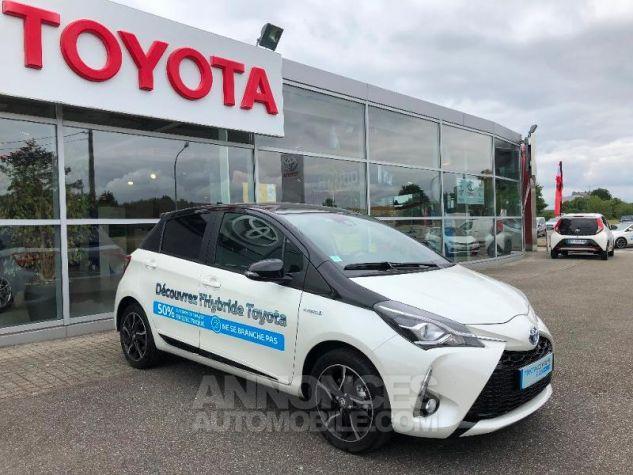 Toyota YARIS 100h Collection 5p RC18 2NS BI TON BLANC NAC Neuf - 3